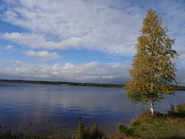 See mit SPiegelung in Finnland