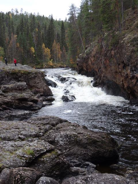 Stromschnellen Oulanka Nationalpark ©Foto: Tarja Prüss | Tarjas Blog - Reiseblog Finnland