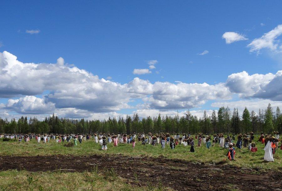Das stille Volk - Suomussalmi Finnland ©Foto: Tarja Prüss