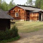 Finnland: Siida Museum Inari -Freiluftmuseum - altes Holzhaus (© Tarja Prüss)