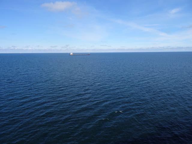 Blaue Ostsee vom Schiff aus ©Foto: Tarja Prüss   Tarjas Blog - Alles über Finnland
