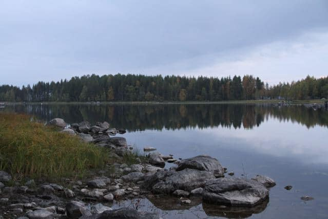 Spiegelglatter Pielinen See Finnland ©Foto: Tarja Prüss | Tarjas Blog