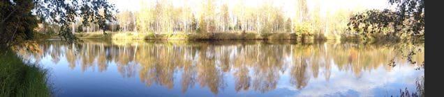 Flusslandschaft in Haukipudas ©Foto: Tarja Prüss | Tarjas Blog - Alles über Finnland