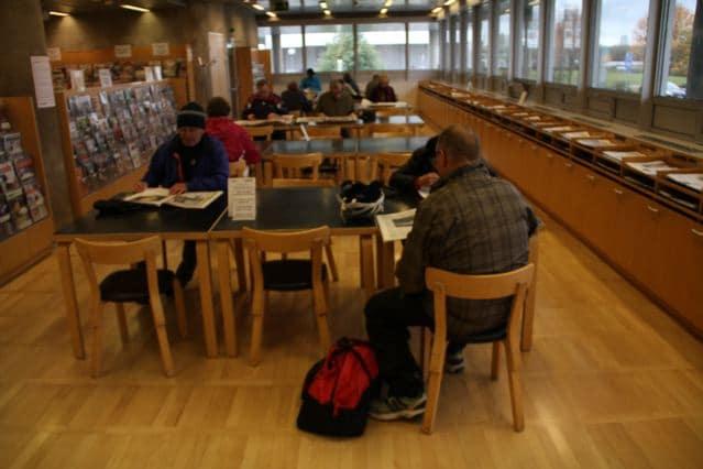 Kaufhalle und wo sich lesen lohnt: Lesesaal der Bibliothek in Oulu in Finnland ©Foto: Tarja Prüss | Tarjas Blog - Alles über Finnland
