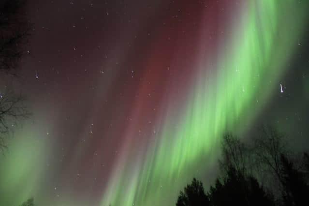 Polarlicht in Finnland © Tarja Prüss | tarjasblog.de