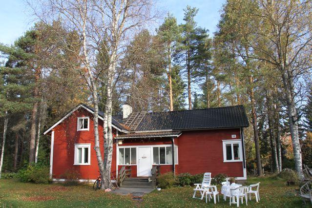 Rotes Hozhaus in Haukipudas ©Foto: Tarja Prüss | Tarjas Blog - Alles über Finnland
