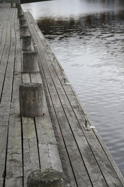Oulu Markplatz : Steg, der zum Wasser führt ©Foto: Tarja Prüss | Tarjas Blog - Alles über Finnland