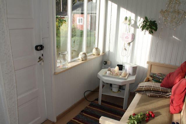 Vorraum eines finnischen Holzhauses ©Foto: Tarja Prüss | Tarjas Blog - Alles über Finnland