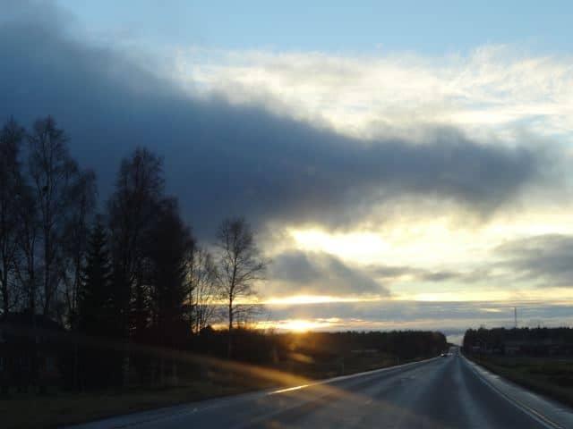 abendlicht finnland