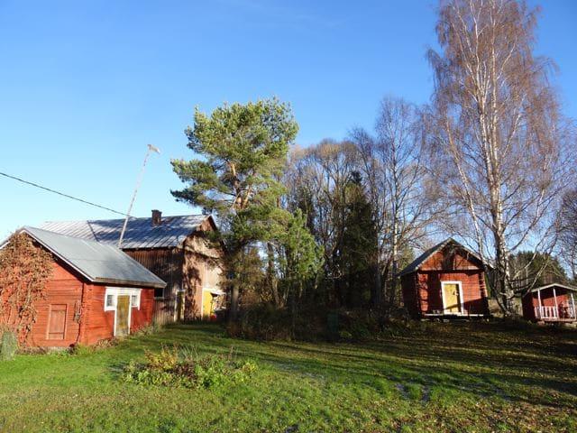Alter Hof in Lehmäjoki Finnland © Tarja Prüss | Tarjas Blog - Alles über Finnland