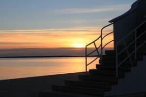 Dunkelheit in Finnland: Sonnenuntergang um 3 Uhr nachmittags (copyright: Tarja Prüss)