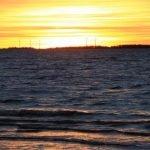 sunset oulu meer