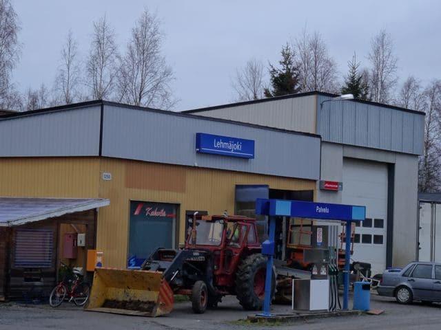 tankstelle lehmaejoki finnland
