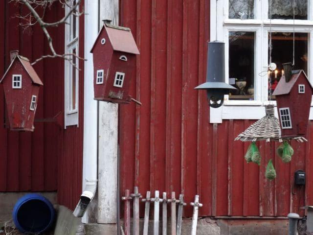 Vogelhäuschen in Finnland ©Foto: Tarja Prüss | Tarjas Blog - Alles über Finnland