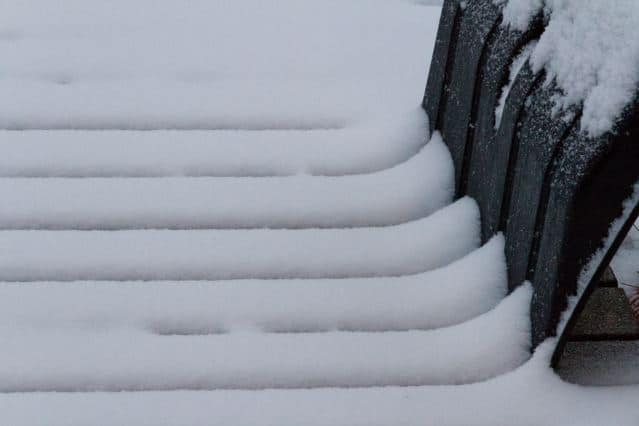 Schnee Formen : Linien im Schnee ©Foto: Tarja Prüss | Tarjas Blog - Alles über Finnland