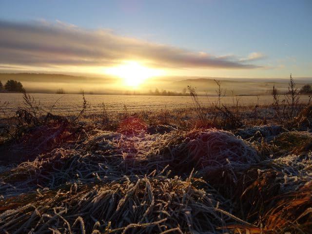 Sonnenuntergang - Salo Finnland ©Foto: Tarja Prüss | Alles über Finnland