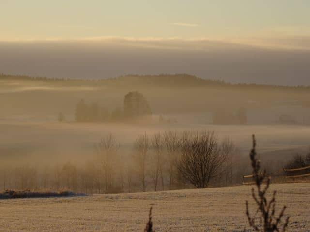 Nebel über der Landschaft - Salo Finnland ©Foto: Tarja Prüss | Alles über Finnland