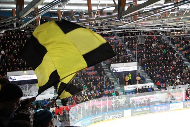 Eishockey Finnland: Kärpät Oulu (copyright: Tarja Prüss)