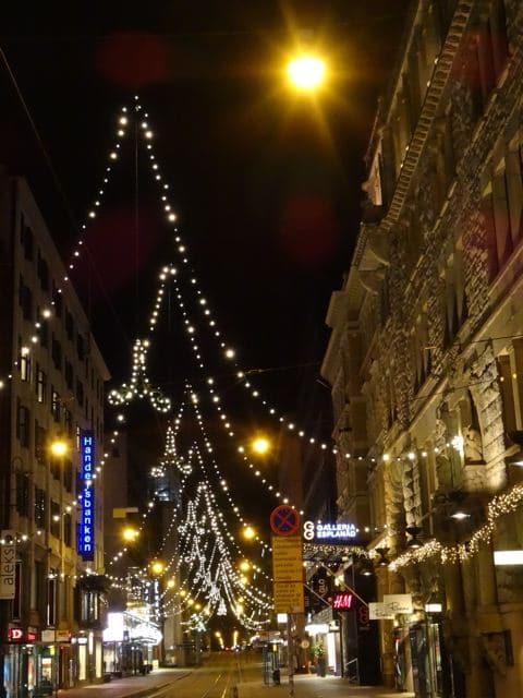 Helsinki zur Weihnachtszeit: Aleksanterinkatu ©Tarja Prüss   Tarjas Blog - Alles über Finnland