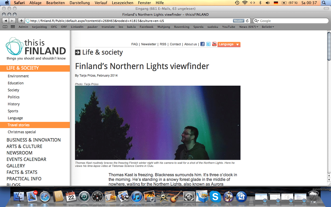 thisisfinland: about fascination of northern lights