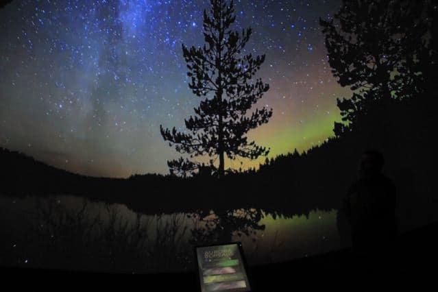 Polarlicht von Polarlicht-Jäger Thomas Kast, aufgenommen im Tietomaa, Oulu Finnland