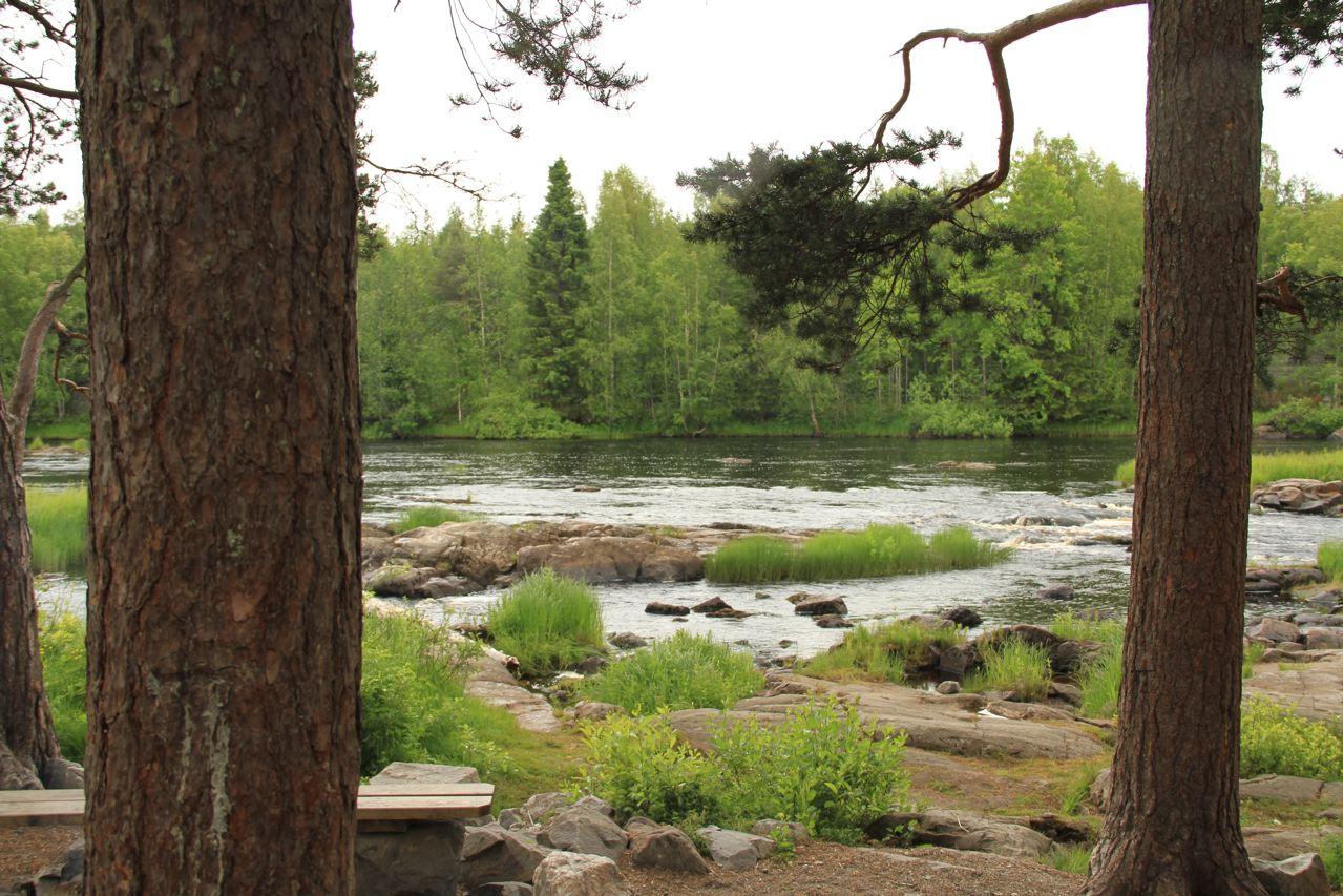 Naturpark Finnland: Koitelinkosket (Foto: Tarja Prüss)