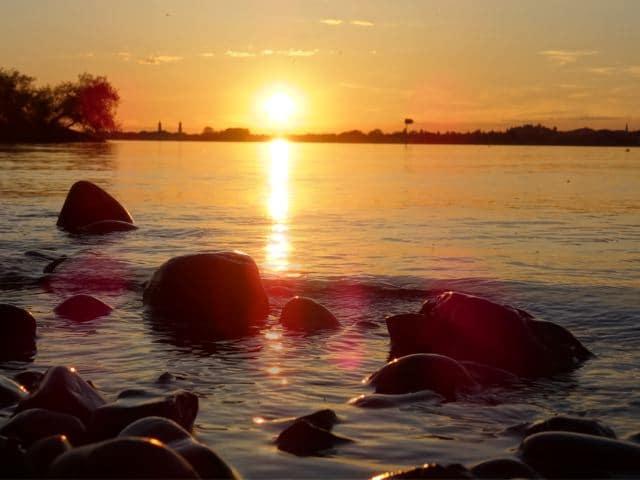 Sonnenuntergang in Finnland - Copyright: Tarja Prüss