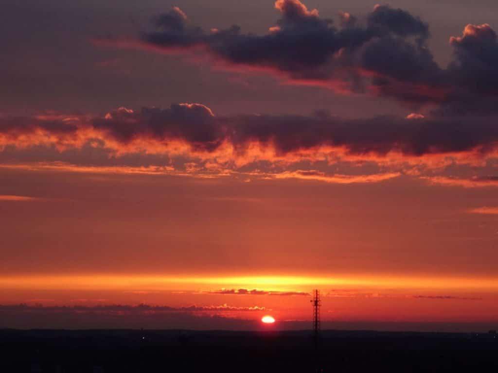 Sonnenaufgang in Helsinki Finnland ©Foto: Tarja Prüss | Tarjas Blog - Alles über Finnland