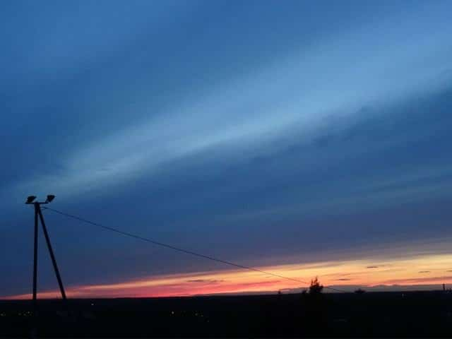 Sonnenuntergang Helsinki Finnland (copyright: Tarja Prüss)