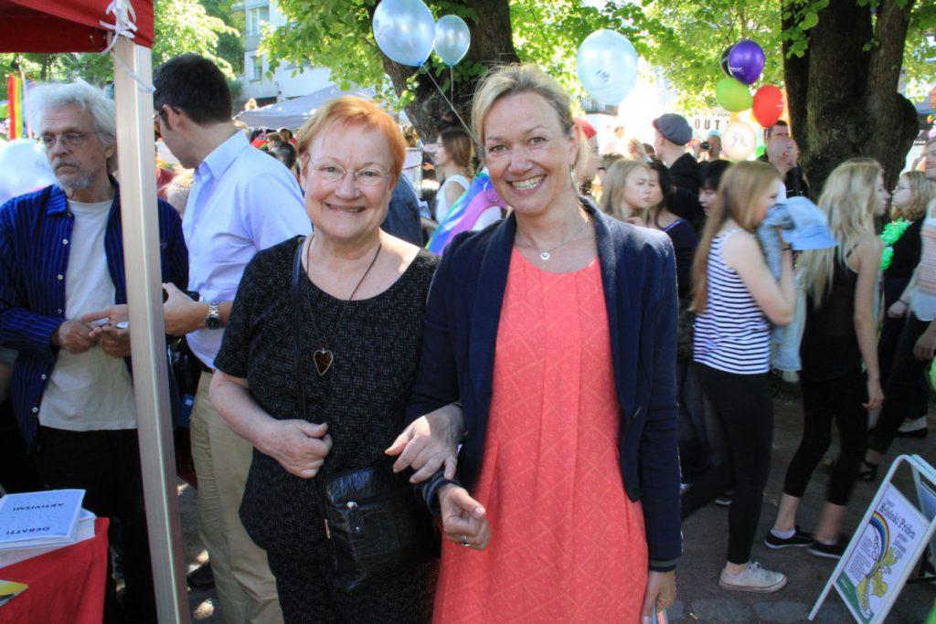 Tarja Halonen und Tarja Prüss