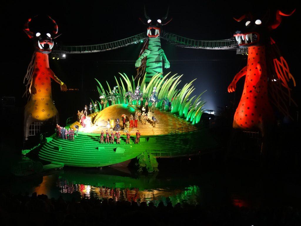 Bregenzer Festspiele Buehne ©Foto: Tarja Prüss