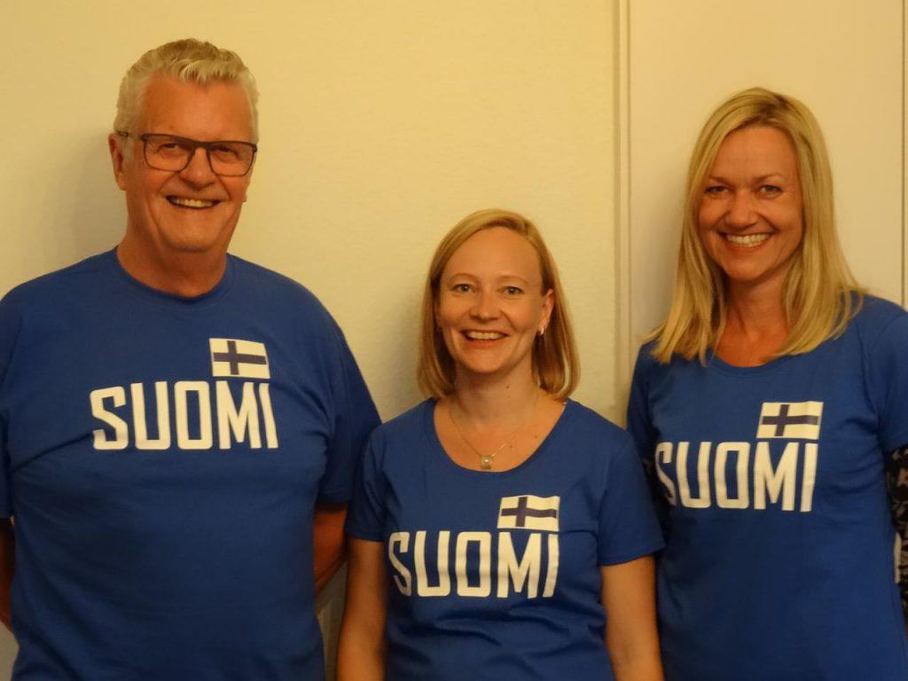 ÖFG-Präsident Manfred Allmaier, stv. ÖFG-Präsidentin Jenni Hurme, Tarja Prüss