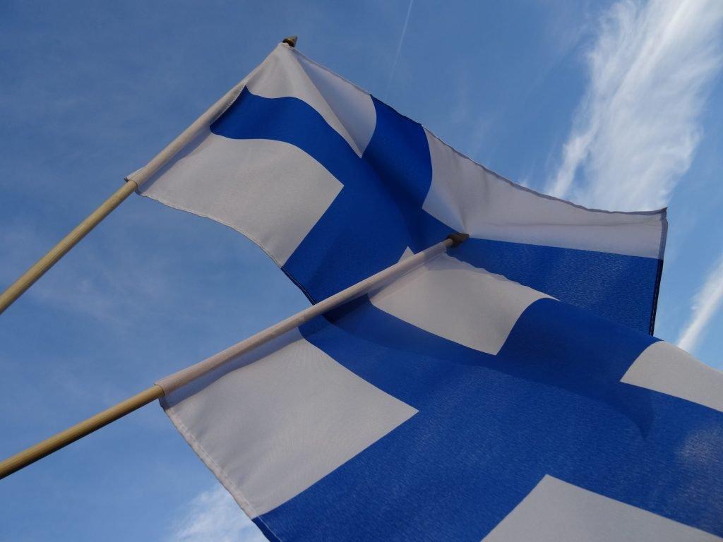 Finnische Fahne © Tarja Prüss