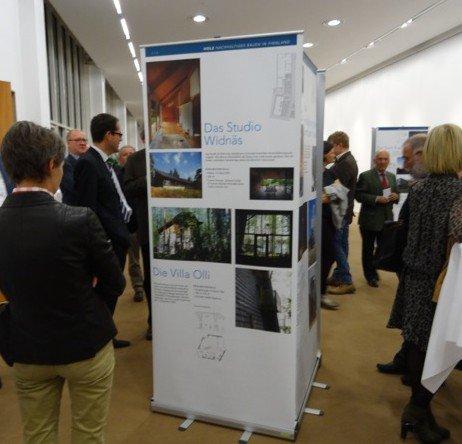 Finnische Architektur: Ausstellungseröffnung im Landhaus, Bregenz