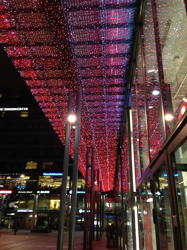 Weihnachtsdeko Helsinki 2