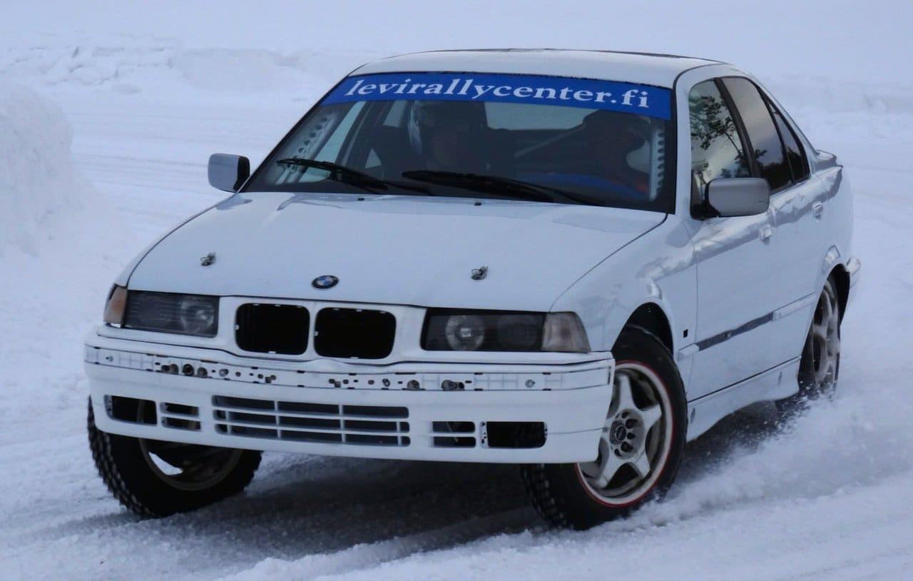 Rallye Finnland: Testgelände in Levi (© Tarja Prüss)