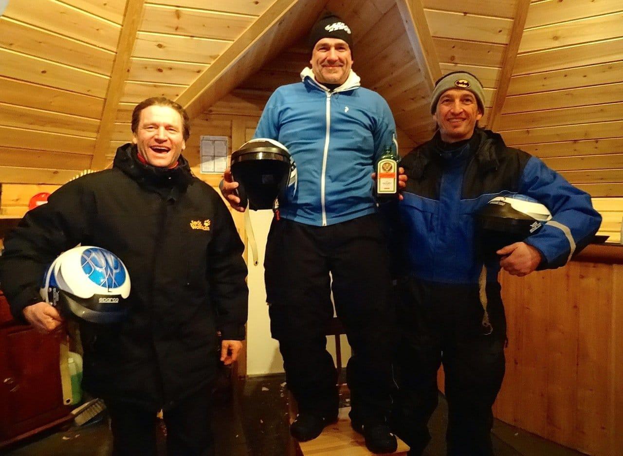 Rallye in Lappland: Die Sieger ©Foto: Tarjas Blog