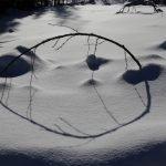 Licht und Schatten im Schnee ©Foto: Tarja Prüss   Tarjas Blog - Alles über Finnland