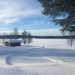 Verschneite Landschaft in Lappland © Tarja Prüss