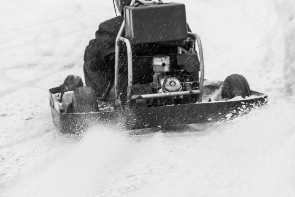 Rallye Finnland: Ice-Karting in Levi (© Tarja Prüss)
