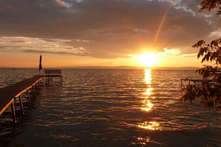 Balaton sunset mini