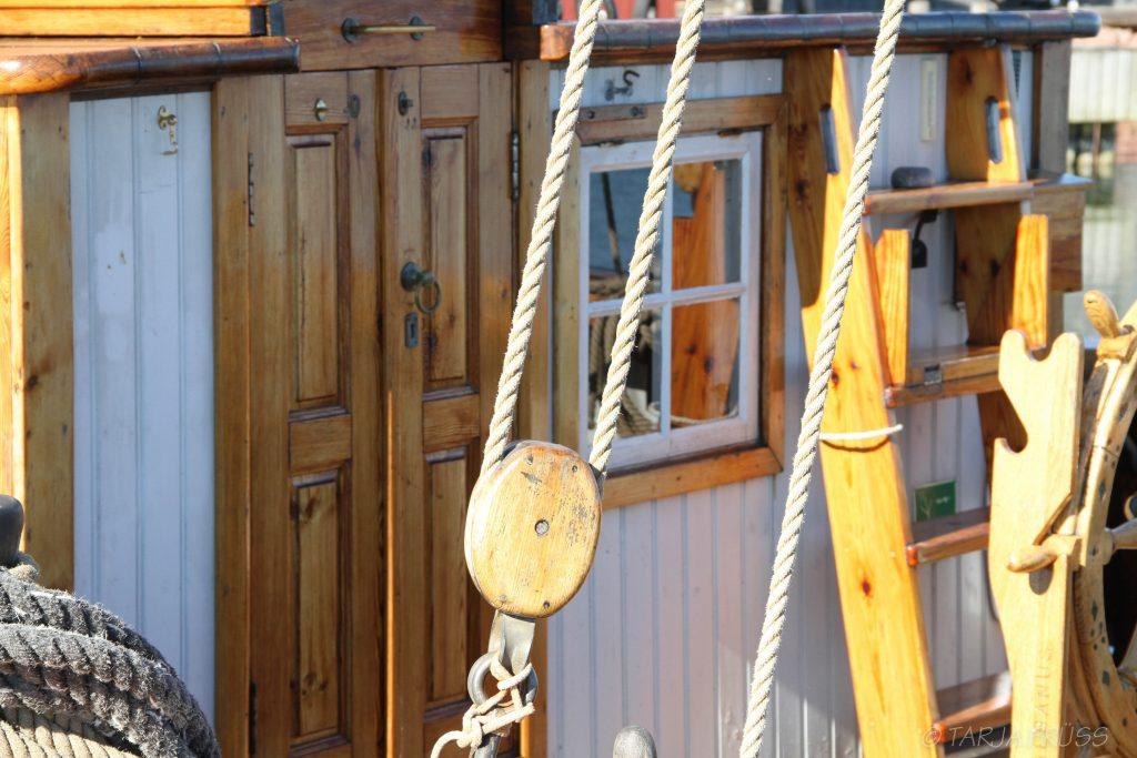 Detail von Segelschiff - Aland, Finnland © Tarja Prüss