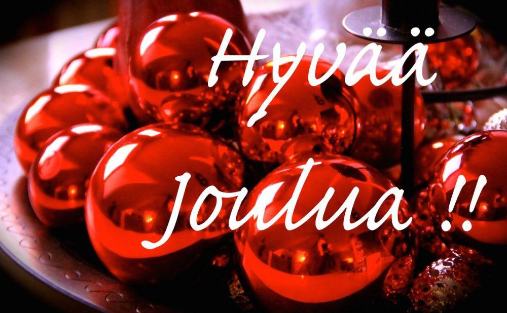 Hyvää Joulua © Tarja Prüss