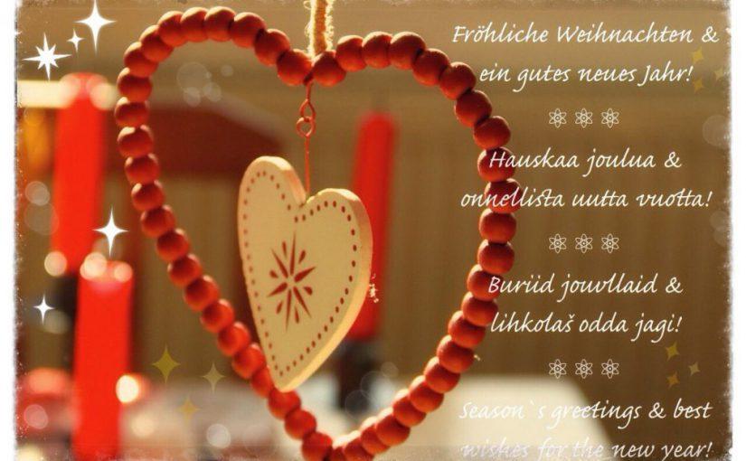 Weihnachtskarte mit Herz ©Foto: Tarja Prüss | tarjasblog.de