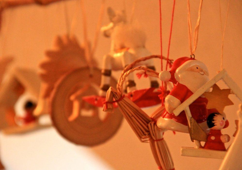 Weihnachtliche Anhänger - Deko © Tarja Prüss | Tarjas Blog - Alles über Finnland