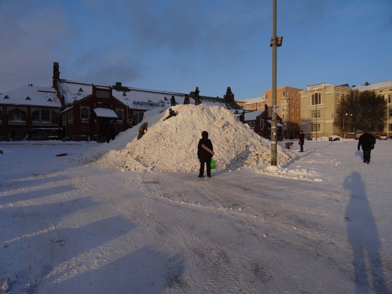 Helsinki im Winter 1