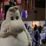 Moomin auf der Reisemesse in Helsinki ©Tarja Prüss
