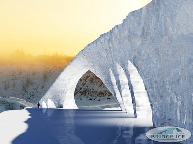 (Quelle: Mediateam Bridge in Ice / www.strucuralice.com)