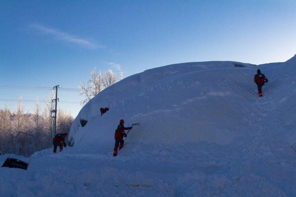 Experiment: größte Eisbrücke der Welt - Ort: Juukka ©Tarja Prüss   Tarjas Blog - Reiseblog Finnland