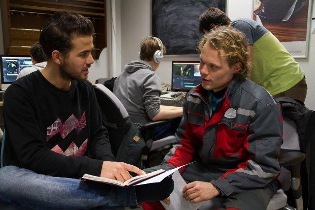 Die Initiatoren Roel und Thijs ©Tarja Prüss   Tarjas Blog - Reiseblog Finnland